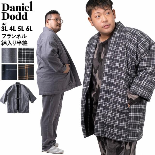 大きいサイズ メンズ DANIEL DODD フランネル 綿...