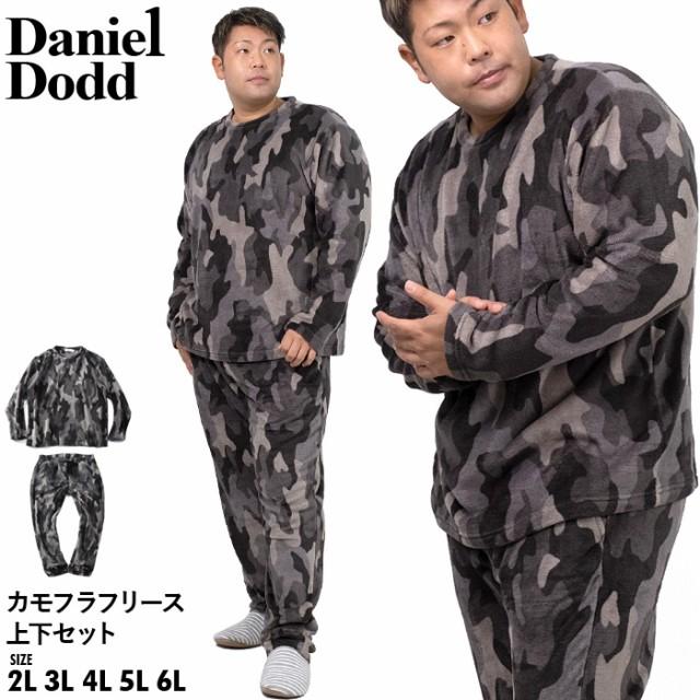 大きいサイズ メンズ DANIEL DODD カモフラ フリ...