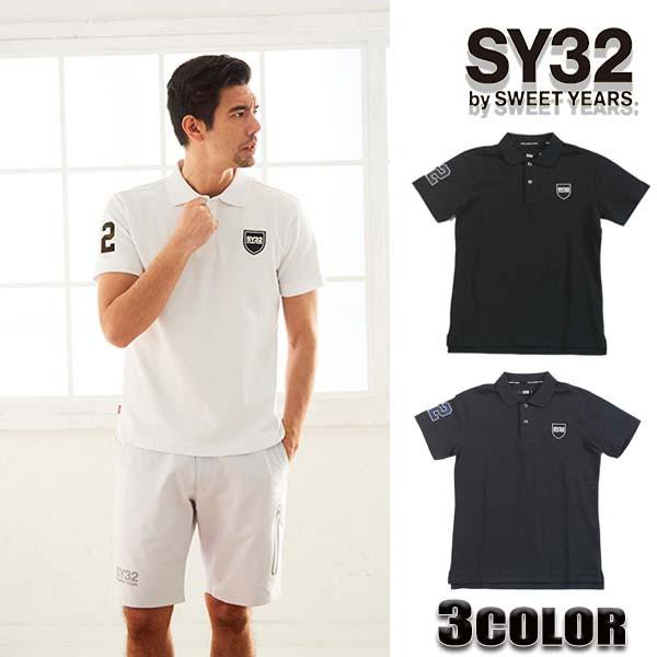 【送料無料】SY32 by SWEET YEARS ポロシャツ メ...