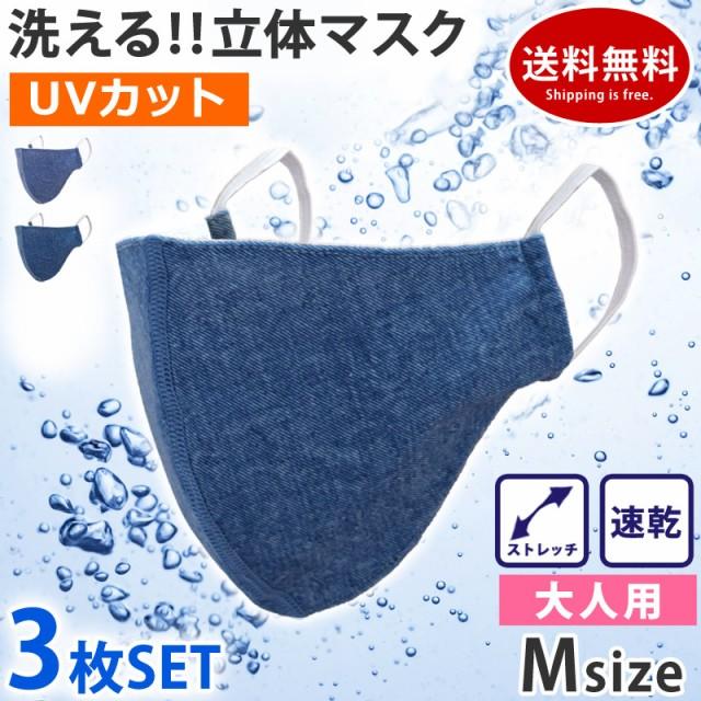 マスク 洗える 布マスク 3枚セット 水着マスク デ...