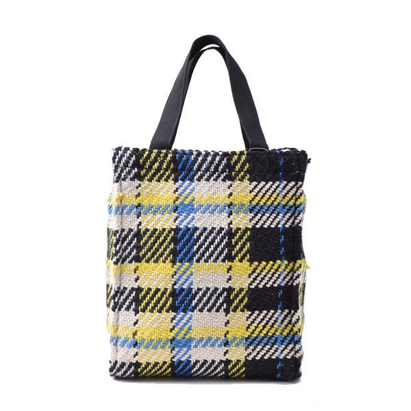 【SALE2000円】リラキャンベル LilasCampbell 通販 Check pattern box totebag レディース バッグ トート トートバッグ ハンドバッグ A4