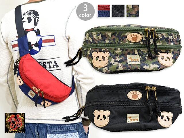 熊猫印ウエストバッグ PANDIESTA JAPAN 567141 パ...