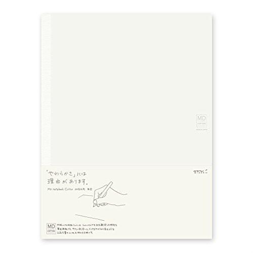 デザインフィル ミドリ MDノート コットンA4変形...