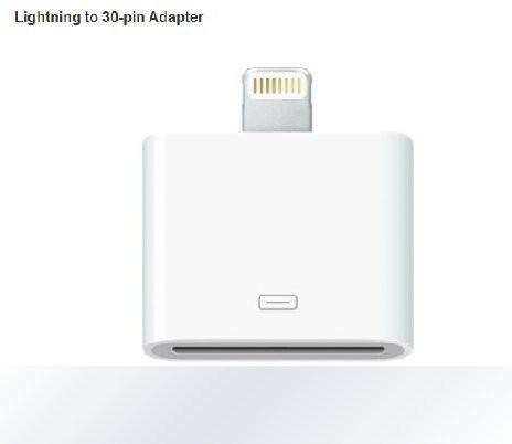 Lightning 30ピンアダプタ -iPhone4からiphone5へ...