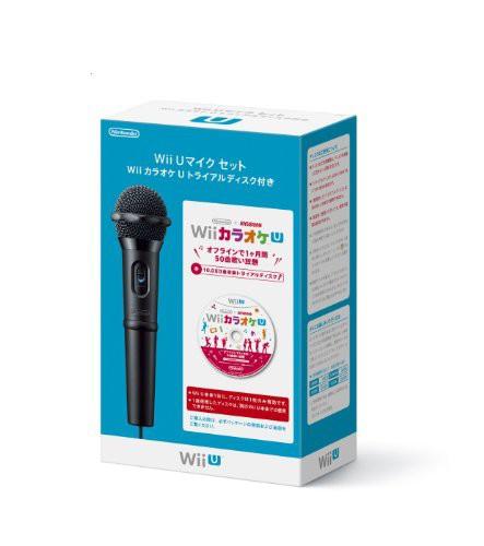 Wii U マイクセット カラオケ U トライアルディス...