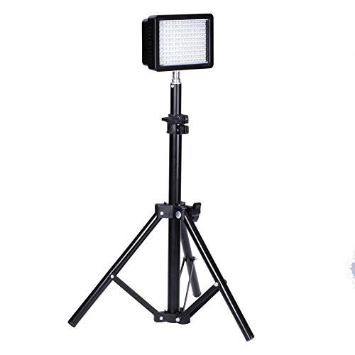 Bestlight 撮影スタジオ160LED照明キット セット...