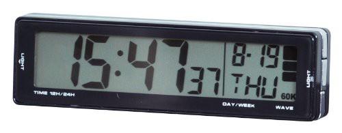 セイワ(SEIWA) 車用 時計 ソーラー電波クロック ...