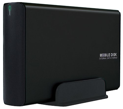 玄人志向 3.5型HDDケース SATA接続 電源連動 USB2...