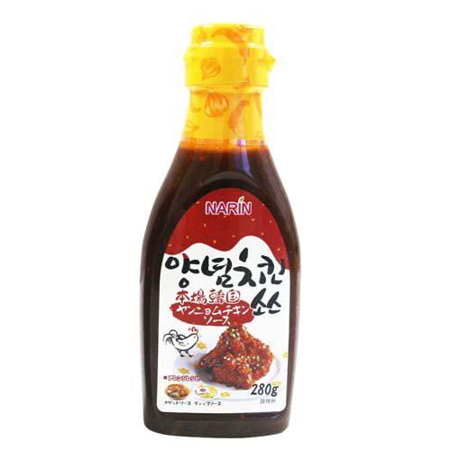 ナリン 本場韓国 ヤンニョムチキンソース 300g
