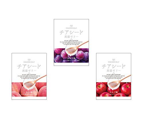 チアシード蒟蒻ゼリー 1袋 10個入り (ぶどう味・...