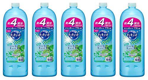【5個セット】キュキュット 食器用洗剤 ハーバル...