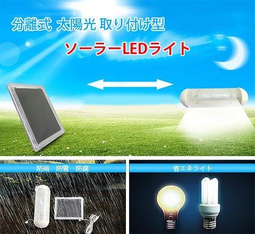 室内、室外、両方使える 太陽光取り付け型 ソーラ...