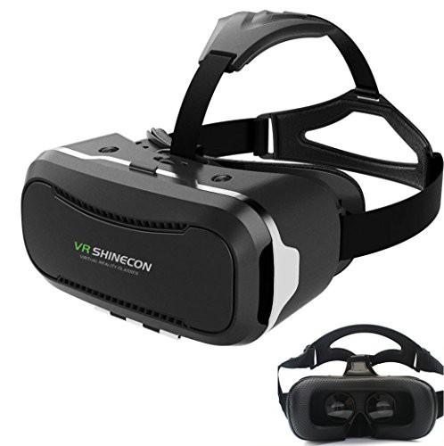 Hqing VRメガネ 3D スマホ ゲーム 映画 ビデオ ゴ...