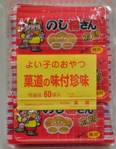菓道 のし梅さん太郎 1枚×60袋