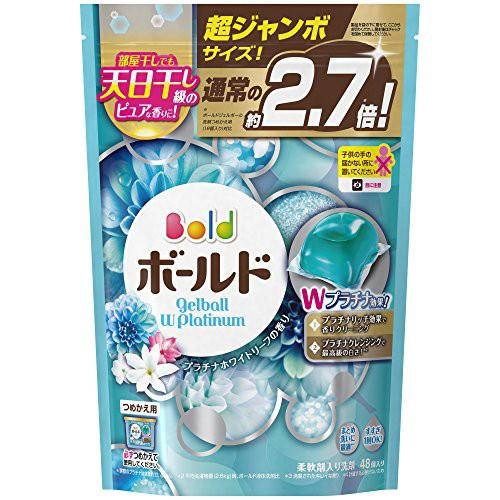 【大容量】 ボールド 洗濯洗剤 液体 ジェルボール...