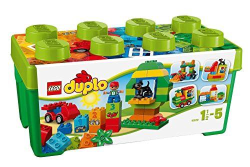 レゴ (LEGO) デュプロ みどりのコンテナデラック...