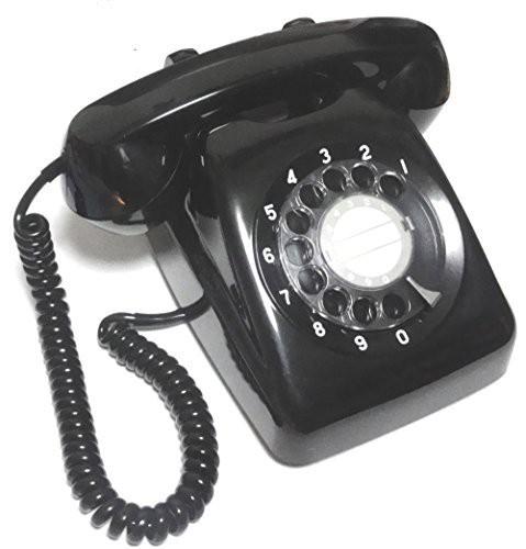 NTT 601-A2 ダイヤル式電話機 (黒電話)(中古品)...
