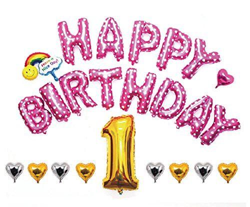 HAPPY BIRTHDAY お誕生日 アルミ バルーン セット...