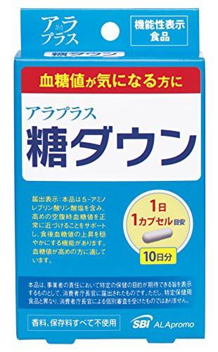 SBIアラプロモ アラプラス糖ダウン 10CP [機能性...