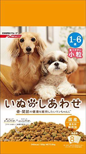 いぬのしあわせ 小型犬 1歳~6歳までの成犬用 2.6k...