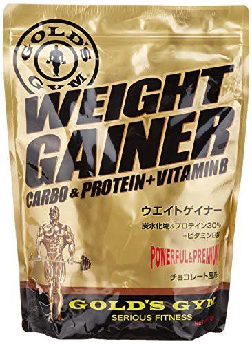GOLD'S GYM ウエイトゲイナー チョコレート風味 1...