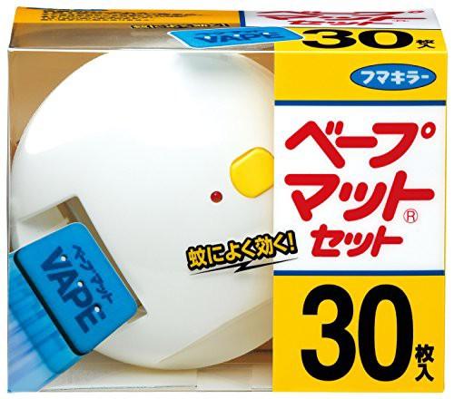 ベープマット 蚊取り器 セット 本体+取替(30枚入)...