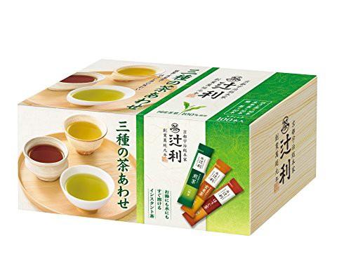 片岡物産 辻利 インスタント 三種の茶あわせ 100P...