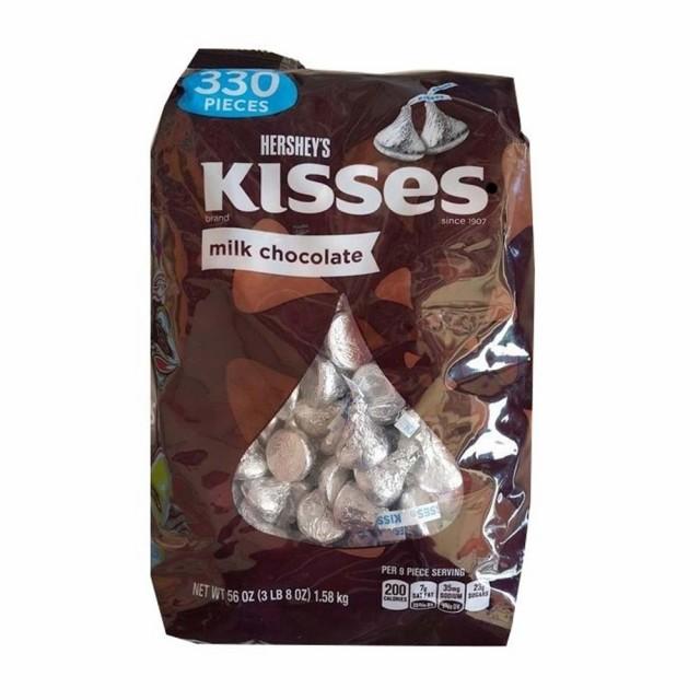 ハーシーズ キスチョコ ミルクチョコレート 1.58k...