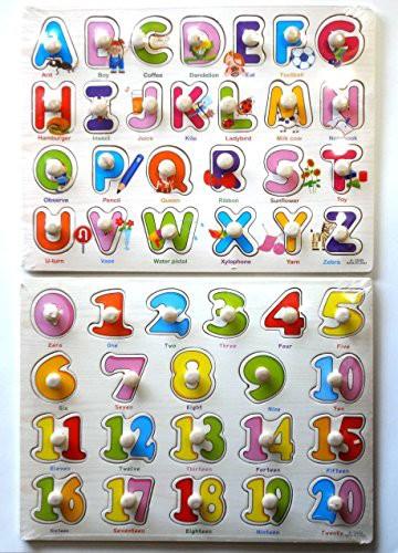 YouBinYa 子供 知育玩具 木製 パズル 2点セット ...