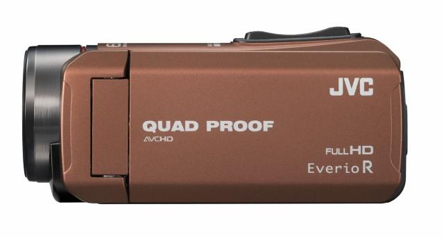 JVC ビデオカメラ Everio R  防水5m 防塵仕様 耐...