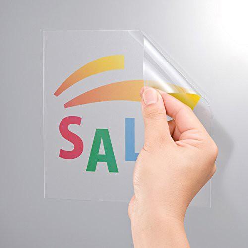 サンワサプライ ラベル用紙 カラーレーザー用透明...