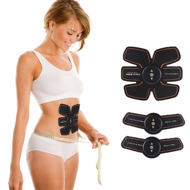 EMS 腹筋ベルト 自動的に腹筋トレーニング 筋トレ...
