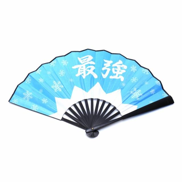 東方Project チルノ 最強扇子 (ブルー)