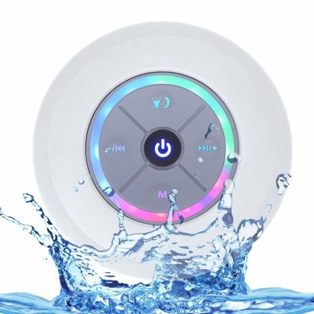 スピーカー Bluetooth4.3 防水 吸盤式 ワイヤレス...