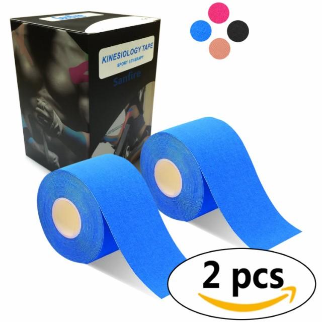 2巻入 テーピングテープ キネシオ テープ 筋肉・...