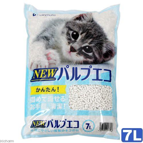 猫砂 サンメイト NEWパルプエコ 7L お一...