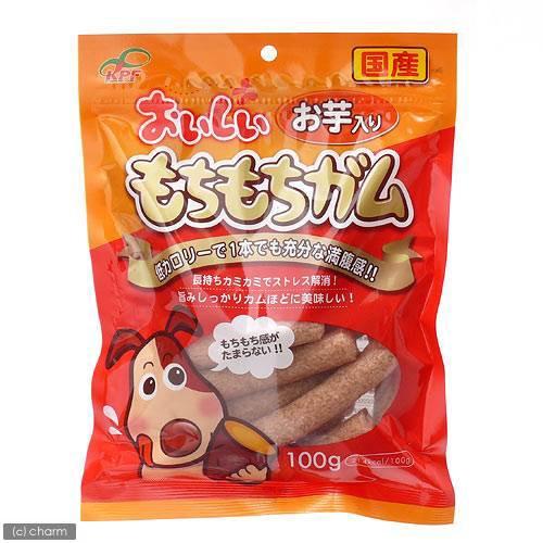 九州ペットフード おいしい もちもちガム お芋...