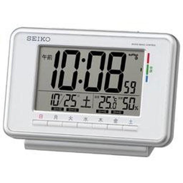 SEIKO セイコー 目覚まし時計 電波 デジタル ウィ...