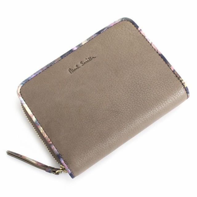 ポールスミス 財布 二つ折り財布 ラウンドファス...