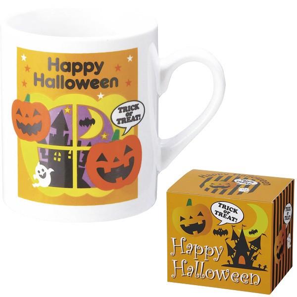 ハロウィン マグカップ かぼちゃ かわいい プチギ...