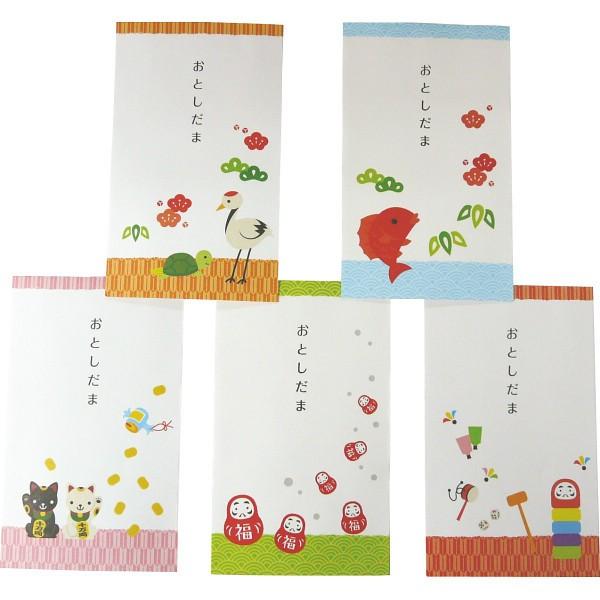 お年玉ポチ袋(小) 5枚入  新年 正月 2018