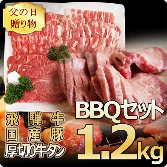 ★父の日★バーベキュー1.2kgセット!飛騨牛カル...