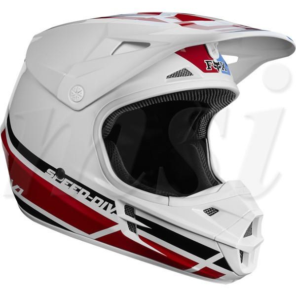 FOX フォックス 2018年 V1 SE ヘルメット RWT Red...