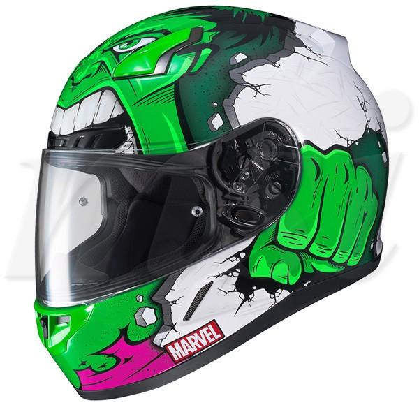 HJC CL-17 ヘルメット Marvel Hulk マーベル ハル...