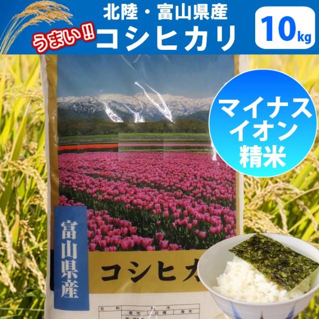 【H29年産】【精米】北陸・富山県産コシヒカリ10k...