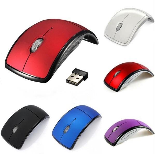 折りたたみ式 USBワイヤレスオプティカルマウス ...