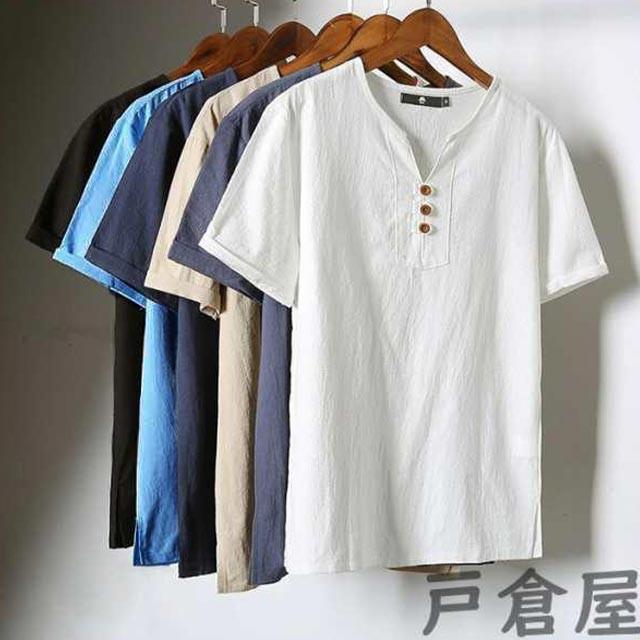 Tシャツ メンズ vネック Tシャツ メンズ おしゃれ...