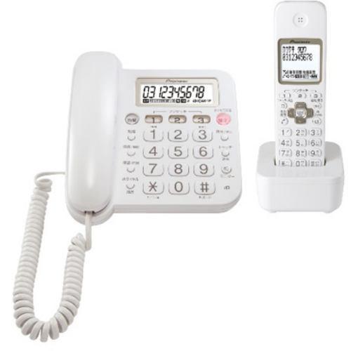 パイオニア TF-SA15S-W デジタルコードレス留守番...
