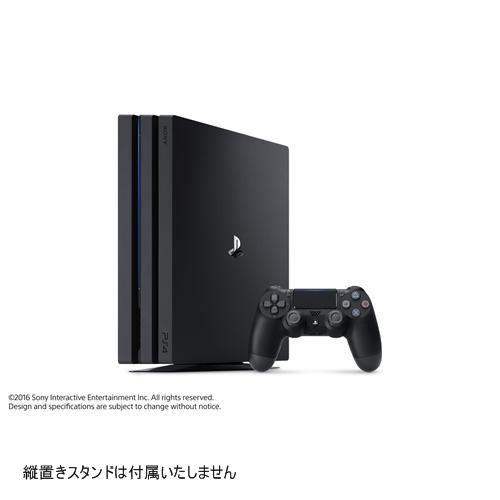 PlayStation4 Pro ジェット・ブラック 1TB CUH-7...