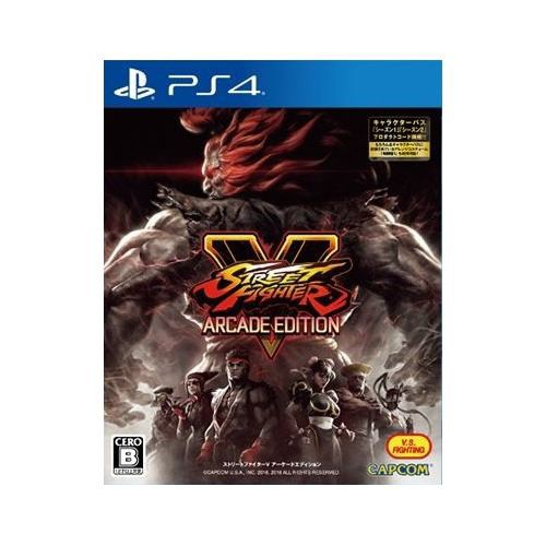 STREET FIGHTER V ARCADE EDITION PS4 PLJM-16112...